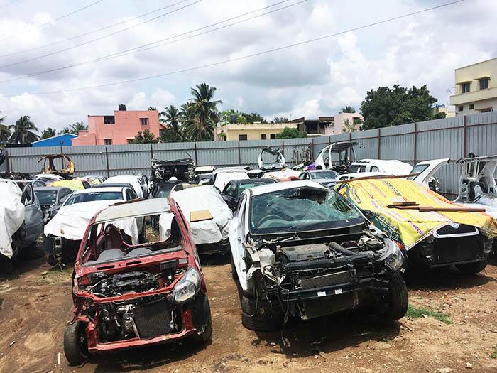 altes auto verschrotten